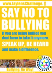 Say No To Bullying - Jaylens Challenge Foundation, Inc.