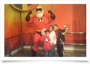 Fun at Disney with Dash and friends